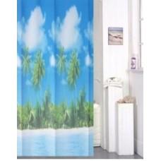 "Шторы для ванной комнаты полиэстер ""ZALEL"" 180*200, 180/180 Артикул 30247"