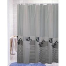 "Шторы для ванной комнаты полиэстер ""ZALEL"" 180*200, 180/180 Артикул 30248"