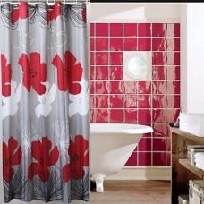 "Шторы для ванной комнаты полиэстер ""ZALEL"" 180*200, 180/180 Артикул 30252"