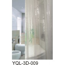 """Шторы для в/к """"Zalel"""" 3D 180*180 PVA 100% арт 3D-009"""
