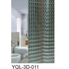 """Шторы для в/к """"Zalel"""" 3D 180*180 PVA 100% арт 3D-011"""
