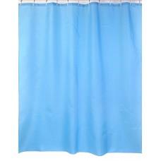 "Шторы для ванной комнаты полиэстер ""ZALEL"" 180*200, 180/180 Артикул YQL-38_Blue"