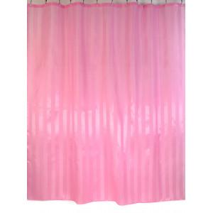 """Шторы для ванной комнаты полиэстер """"ZALEL"""" 180*200, 180/180 Артикул YQL-4_Pink"""