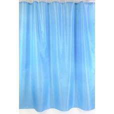 "Шторы для ванной комнаты полиэстер ""ZALEL"" 180*200, 180/180 Артикул YQL-62_Blue"