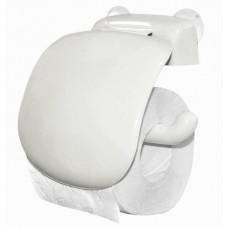 Держатель для туалетной бумаги (белый) пластик