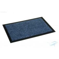 Коврик придверный влаговпитывающий 45*75 синий  (3005)