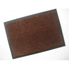 Коврик придверный влаговпитывающий 40*60 т/коричневый (3007)
