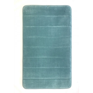 """Коврик для ван. комн. """"Memory stripes"""" 70*120 Light-blue"""