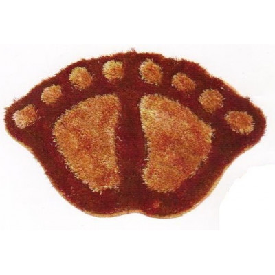 "Коврик д/ван.комн. "" ZALEL"" FOOT 50*70 brown"