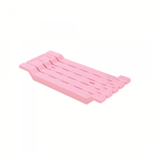 """Сидение для ванной """"Дунья Догуш"""" пластик розовый"""
