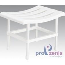 Сиденье для ванной стульчик EURO STYLEбелый