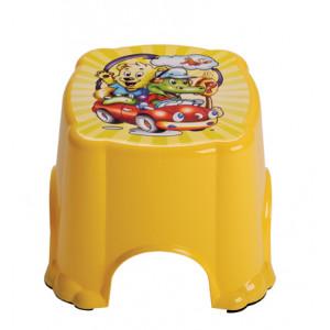 Табурет детский желтый
