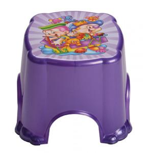 Табурет детский фиолет