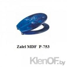 """Крышка для унитаза """"ZALEL"""" MDF фотопринт P-753"""