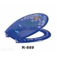 """Крышка для унитаза """"ZALEL"""" Aqua R-889"""