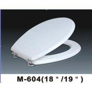 """Крышка для унитаза """"ZALEL"""" MDF М-604 белое"""