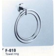 F010 Полотенцедержатель, двойное кольцо