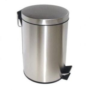 H101 Ведро для мусора 3 литра хром