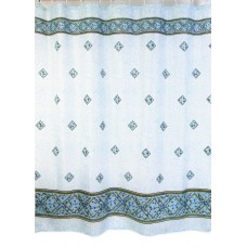 "Шторы для ванной комнаты полиэстер ""ZALEL"" 180*200, 180/180 Артикул 009 blue"