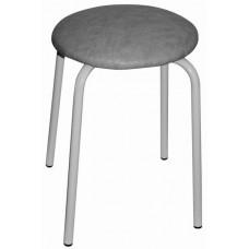 8001/3 Табурет стальной круглый (серый)