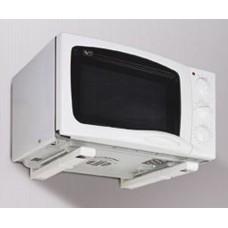 """Подставка под микроволновую печь """"Браво""""305-450 мм белая 1/6"""