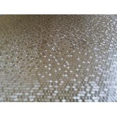 Клеенка PVC  metalic 0.15mm+40gsm super cotton 1,40*20 DW-8014F