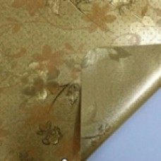 Клеенка Transparent Golden/Silver embossed PVC Tableclot 140*20 с рисунком QZ028