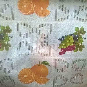 Клеенка Transparent PVC Tablecloth 1,37*30 прозрачная с рисунком TT-2984В