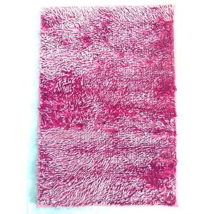 """Коврик д/ван.комн."""" Макароны """" латекс 60*90 (1 пр) блестящие розовый"""