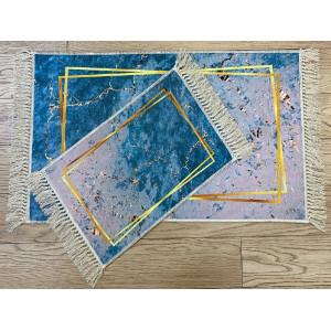 Коврик  decorative 2 предмета  цифровая печать 55*85 артикул 6740