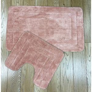 Коврик для в/к Zalel Exclusion 60x100+50*60 pink