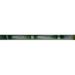 Карниз для в/к белый без пруж с кол. Zalel 110-200