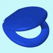 """Крышка для унитаза мягкая""""VANNA LUX"""" синяя"""