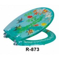 """Крышка для унитаза """"ZALEL"""" Aqua R-873"""