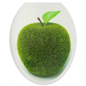 Крышка д/унитаза (жесткое) Конкорд яблоко