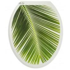 Крышка д/унитаза (жесткое) Конкорд пальма