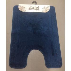 Коврик под унитаз Zalel  B 50*80 D.BLUE