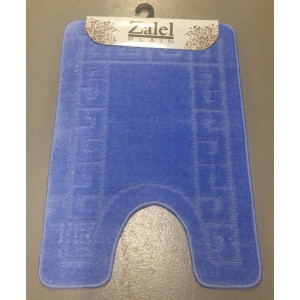 Коврик под унитаз Zalel  B 50*80 L.BLUE