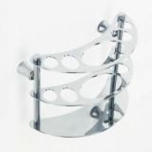 1055/2 Держатель зубн\щеток настенный металл