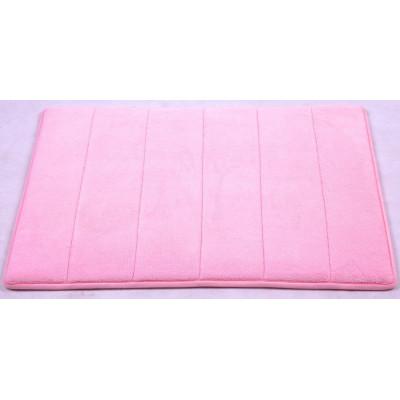 """Коврик для ван. комн. """"Memory stripes"""" 50*80 Pink"""