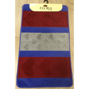 "Коврик Zalel для в/к 60*100 (2 пр) ""HURREM"" Red-Blue"