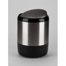 Урна д.туалет бумаги ( черная )М-Е06-06