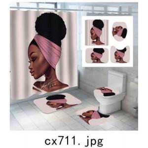 Комплект для ванной комнаты ZALEL фотопринт 4 предмета арт. cx711