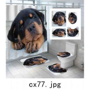 Комплект для ванной комнаты ZALEL фотопринт 4 предмета арт. cx77
