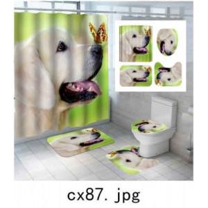 Комплект для ванной комнаты ZALEL фотопринт 4 предмета арт. cx87