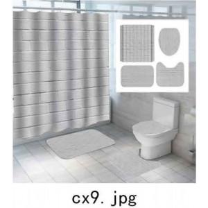 Комплект для ванной комнаты ZALEL фотопринт 4 предмета арт. cx9