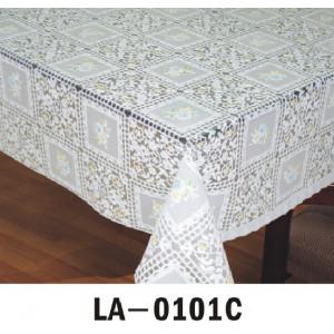 Клеёнка LACE - «Премиум Голд», 1.37m×20m белая серия LA 0101C