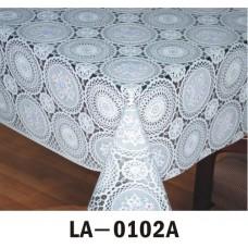 Клеёнка LACE - «Премиум Голд», 1.37m×20m белая серия LA 0102А