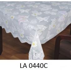 Клеёнка LACE - «Премиум Голд», 1.37m×20m белая серия LA 0440C