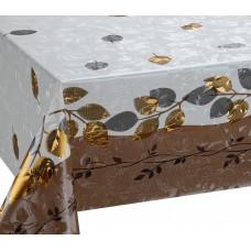 Клеёнка Gold  на нетканной основе, толщина 0.18mm, с орнаментом 1.40m×20m GZF 6610